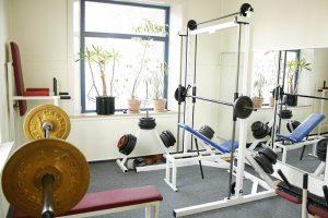 Fitness beim Gewichtheben