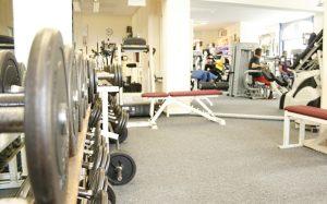 Einblick in unseren Fitness Raum