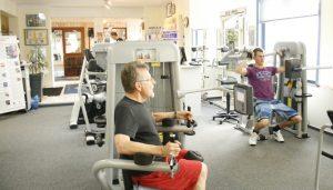 Mitglieder bei der Fitness