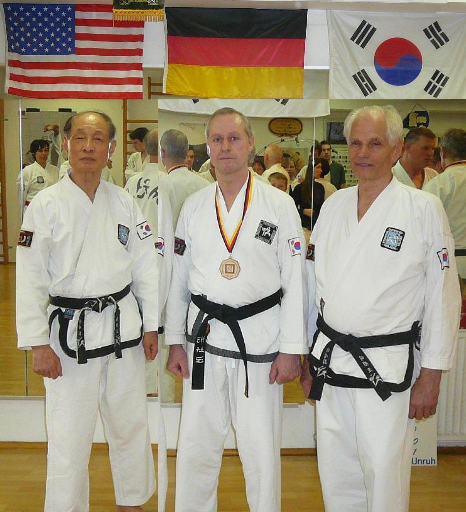 Drei Taekwon-Do Großmeister von PRISMA Uetersen